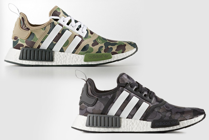 38db3e366c0e03 BAPE x Adidas NMD shoes are official. And there is a release date ...